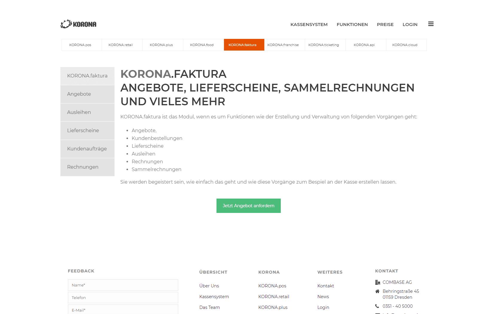 webdesigner webdesign korona kassensystem marketing bremen