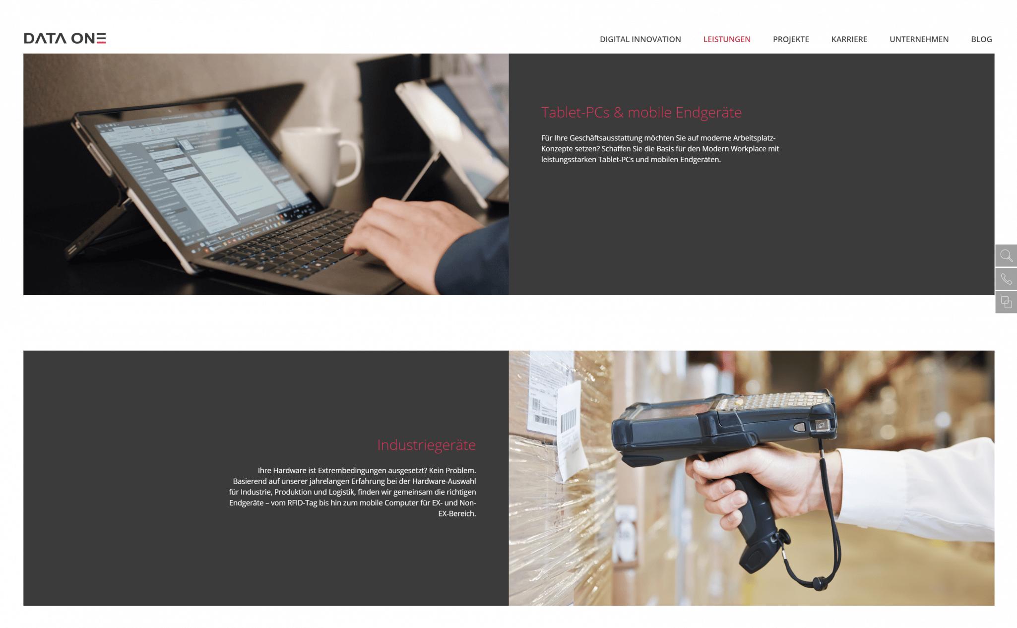 Relaunch Webdesign Rebranding Marketing Website
