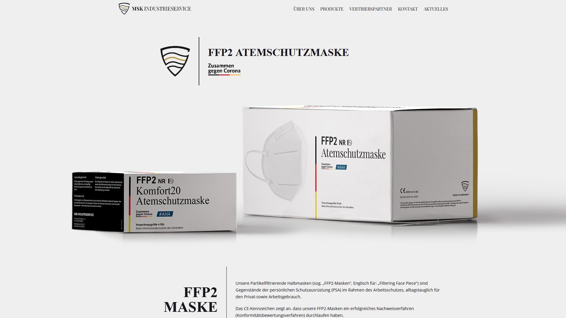 msk industrieservice atemschutzmasken ffp2 relaunch 5